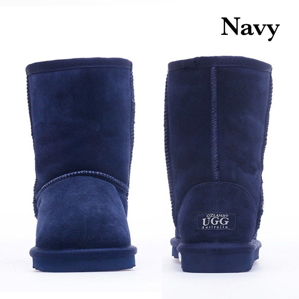 71ff7a9685d OzLamb Unisex 3/4 High Sheep Wool Ugg Boots