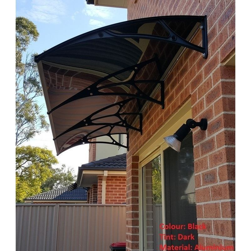 Large Polycarbonate Outdoor Awning 3 69m X 0 8m Buy Door