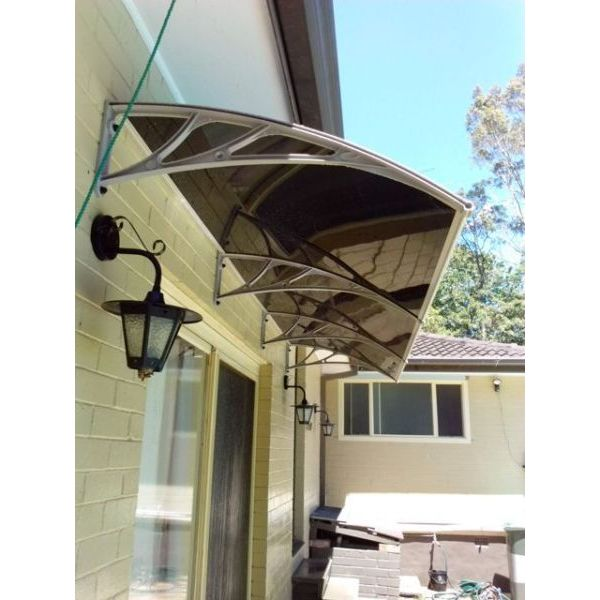 Large Polycarbonate Outdoor Awning 2 Colours 3 09m Buy