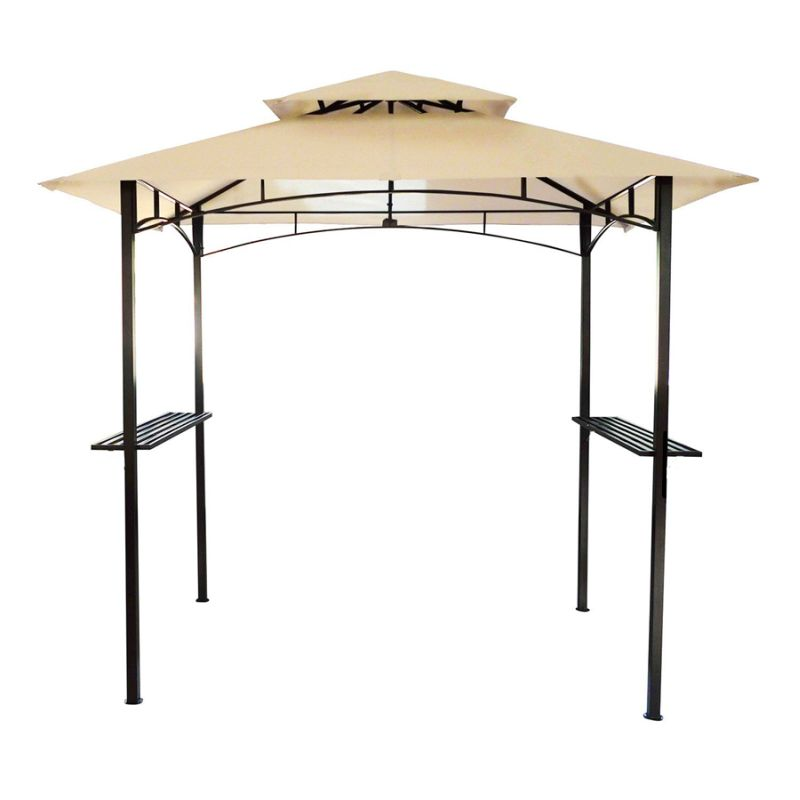 2 4m X 1 5m Bbq Gazebo Sun Shade Vented Double Roof Buy