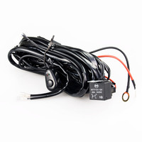 300W LED HID Driving Light Wiring Harness Relay Kit