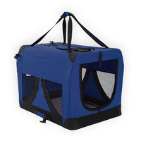 Blue Dog Soft Crate Puppy Pet Carrier L Portable