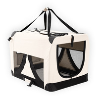 Portable X-Large Dog Soft Crate Pet Carrier White