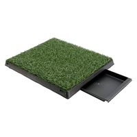 Puppy Toilet Training Pet Dog Grass Pad 63x50x6cm