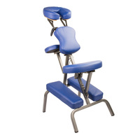 Portable Tattoo Massage Chair Table Blue