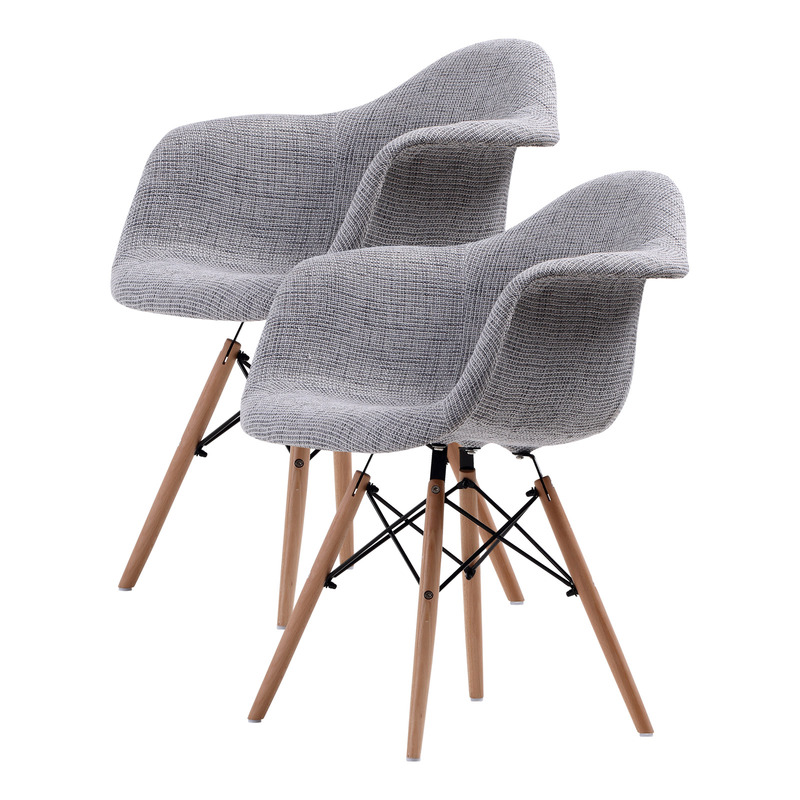 Replica Eames DAW Armchair - GREY X2