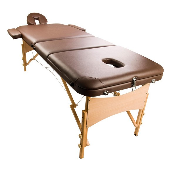 Portable Professional Massage Table In Brown Coffee Buy Health Beauty
