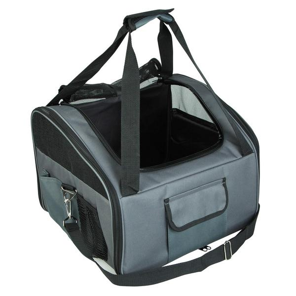 Grey Puppy Pet Car Seat Carrier Dog Soft Crate L Buy