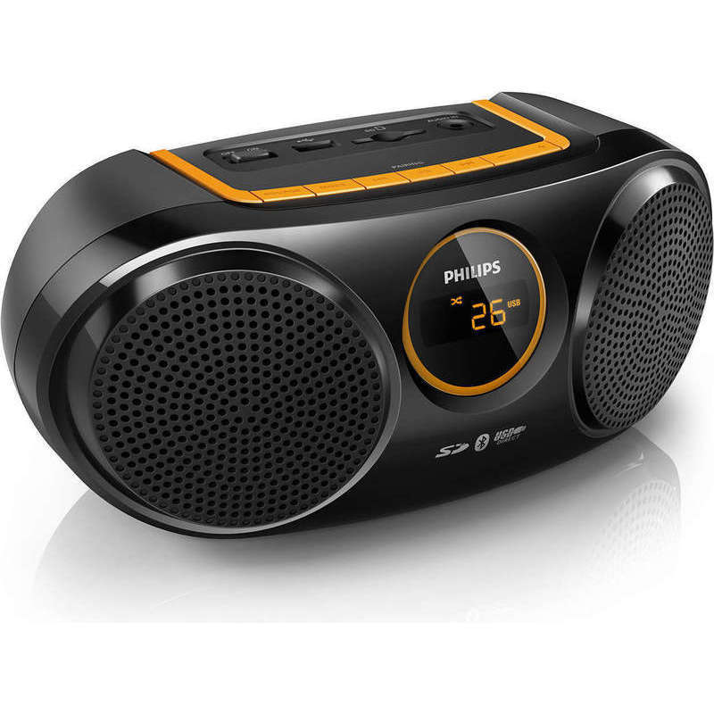 Philips Portable Wireless Bluetooth Speaker & Radio
