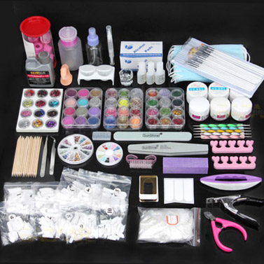Huge 48 piece all in one nail art kit buy nail art kits sets huge 48 piece all in one nail art kit prinsesfo Choice Image