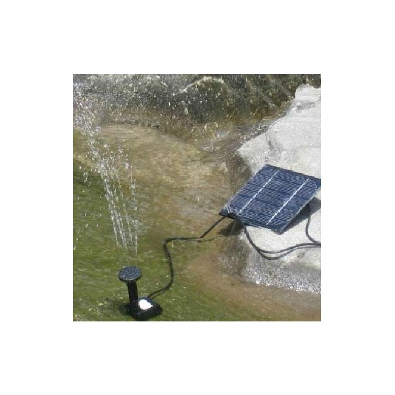 Solar powered submersible water pump kit for garden buy for Solar water pump pond