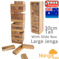 JENGA Tower Wooden Block Deluxe Edition (30cm High)