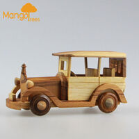 Beta Handmade Wooden Classic Vintage Toy Car