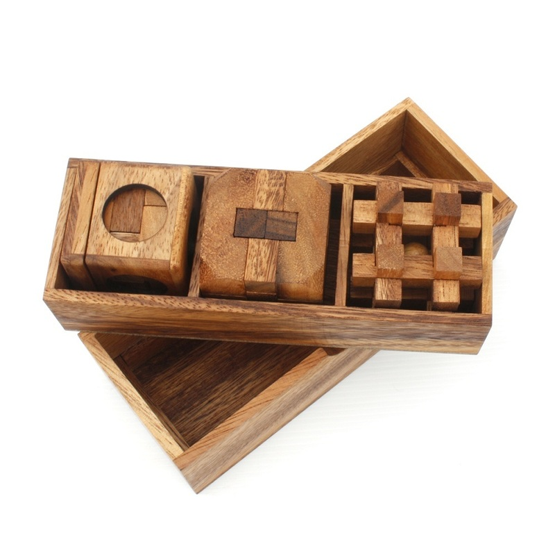 3 Puzzles Deluxe Gift Box Set 2