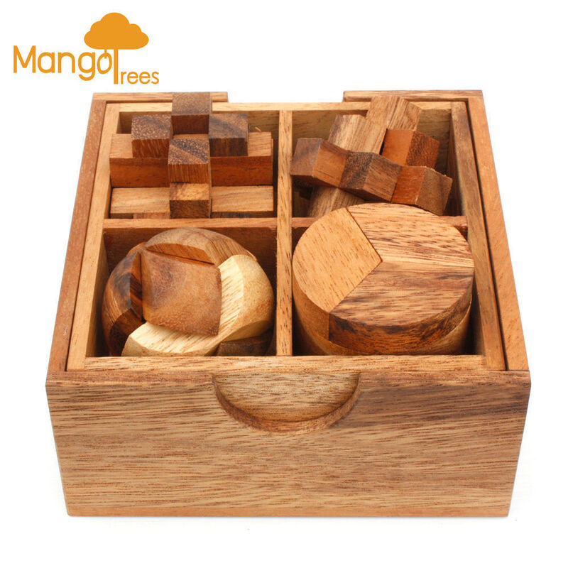 4 Puzzles Deluxe Gift Box Set 2