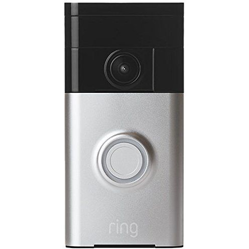 Ring Wifi 720p Video Doorbell In Satin Nickel Buy