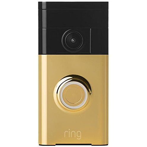 Ring Wifi 720p Video Doorbell In Polished Brass Buy