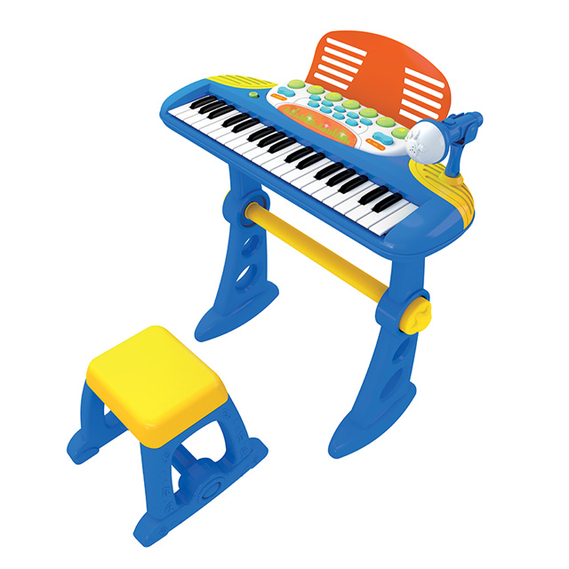 Kids Electronic Keyboard With Microphone Amp Stool Buy Toy