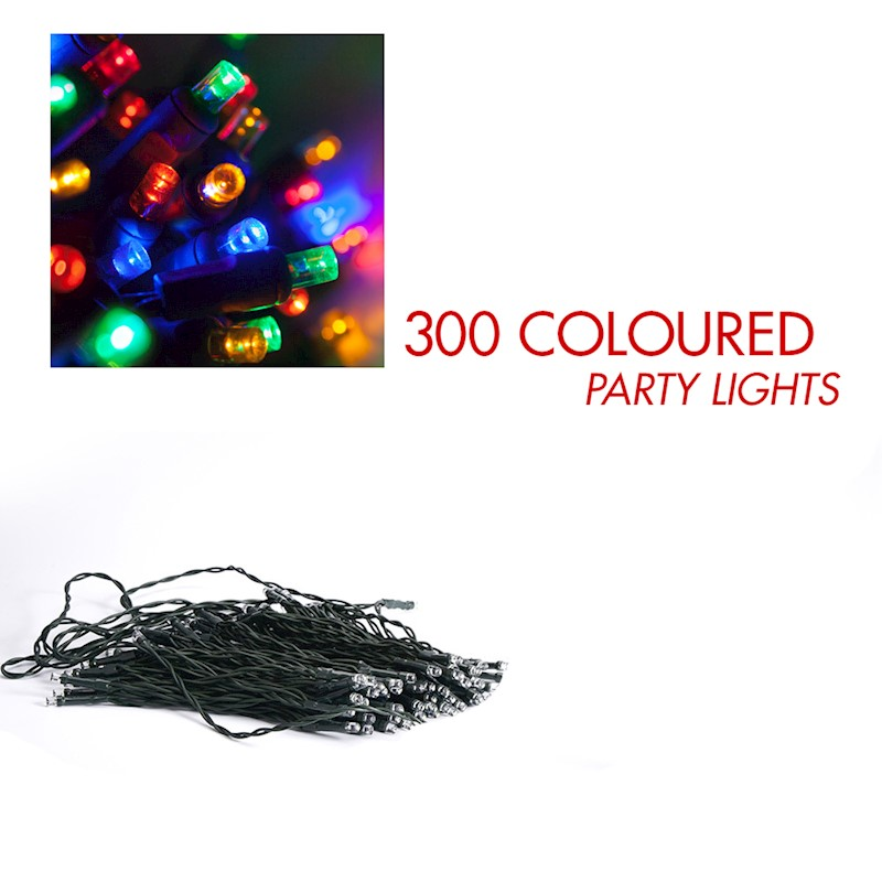 Lenoxx Colour Christmas Party Lights 240v 300 Buy Outdoor String
