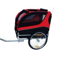 Cargo & Pet/Dog Chariot Bike Trailer in Red 40kg