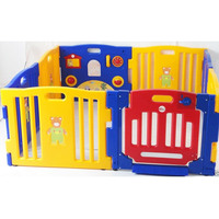 8 Sided Plastic Interactive Toddler Baby Playpen