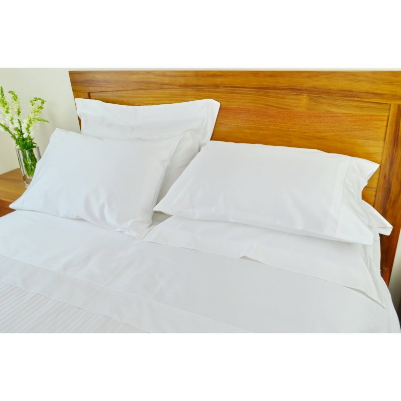 c88cfcd9754 h m s Remaining. 1250 TC White Single Bed Sheet Sets w  Pure Cotton