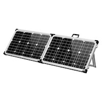 Folding Portable Solar Power Panel Kit 80W