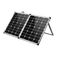 Camping Folding Solar Power Panel Kit 160 Watt