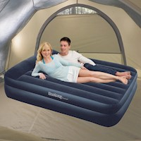 Bestway Queen Inflatable Air Bed with Electric Pump