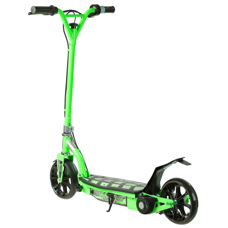 Electric scooter green