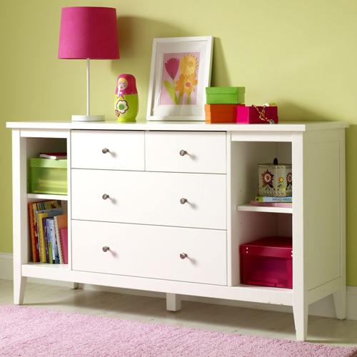 Baby Change Table With Chest Of Drawers Amp Shelves Buy