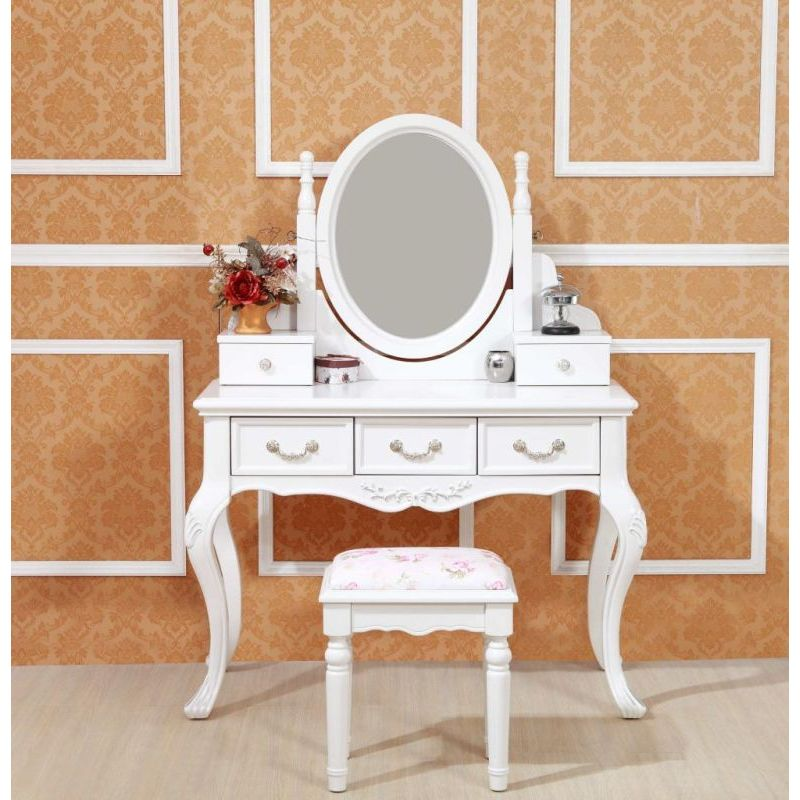 French Provincial Mirror Dressing Table And Stool Buy Dressing