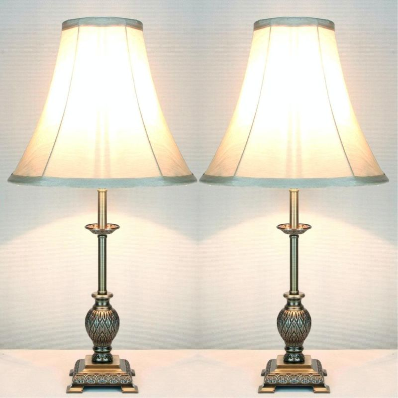 2x Baroque Designer Bedside Table Lamps Buy Table Lamps