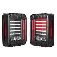 2x LED Brake Tail Lights for Jeep Wrangler JK