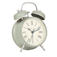 London Clock Company Green Alarm Clock M.Charlotte