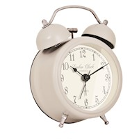 London Clock Company Grey Alarm Clock, S.Charlote