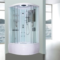 Aeros 16100 Shower Bath Cubicle Enclosure in Aqua