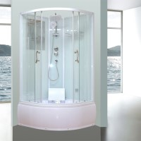 Aeros 17090 Shower Bath Cubicle Enclosure in Aqua