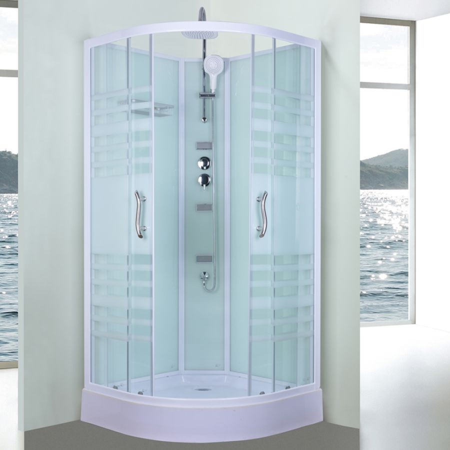 Aeros Shower Cubicle Set Aqua 11000 Series | Buy Shower Cubicles ...