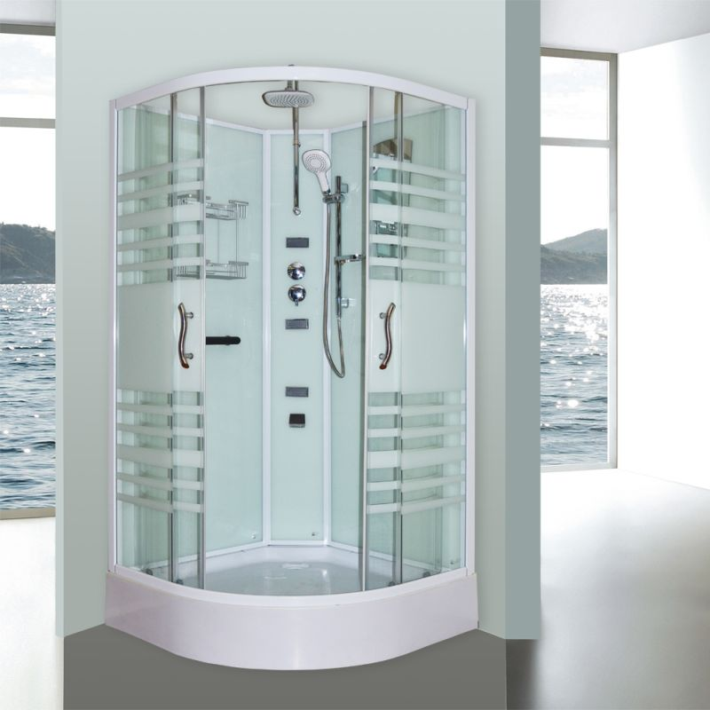 Aeros 12000 Shower Enclosure Unit in Aqua 3 Sizes | Buy Shower ...