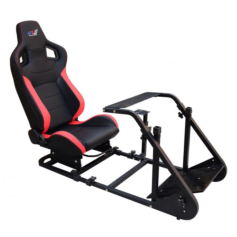 4c8f91e49d5 h m s Remaining. GT Racing Race Simulator Seat Stand for Logitech