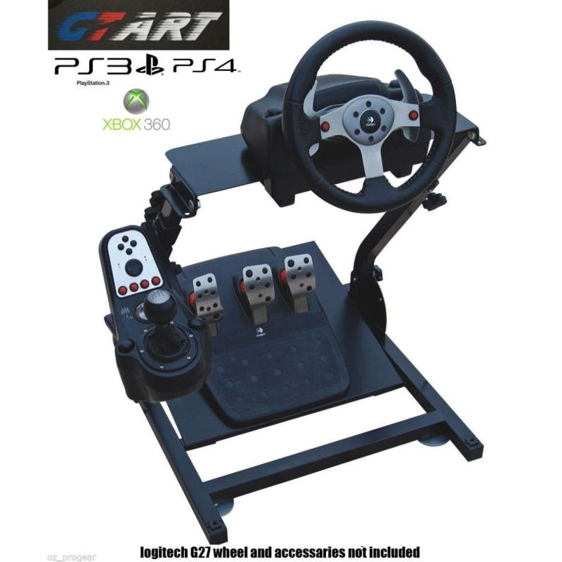 gt art ps4 xbox 360 racing steering wheel stand buy. Black Bedroom Furniture Sets. Home Design Ideas