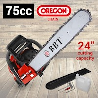 BBT Chainsaw 75CC with 12 Month Parts Warranty