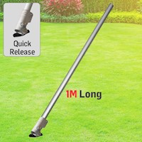 BBT Quick Release Garden Trimmer Extension Pole 1M