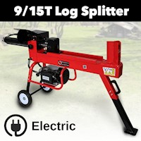 BBT Log Splitter  9 Tonne Capacity