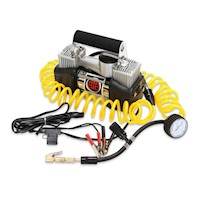 BBT 12V Air Compressor, Silver Series