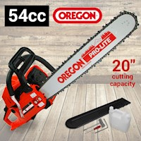 BBT Petrol Oregon Bar Chainsaw w/ 20in Bar 54cc