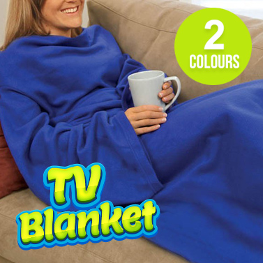 Snuggly Tv Couch Blanket With Sleeves Buy Throw Rugs
