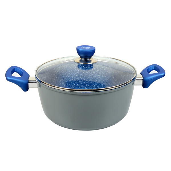 Blue Marble Stone Pot Amp Pan Cookware W 8 Options Buy