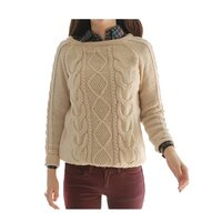 Candy Coloured Cable Knitted Pullover